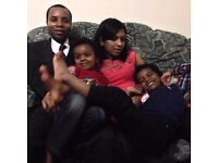 A friendly family looking for a live in mother's help start from April