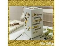 Live Laugh Love Butterfly Box Light