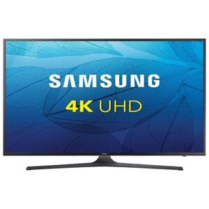 SAMSUNG 55 INCH 4K UHD SMART LED TV (UN55MU6300FXZC). NEW IN BOX. $688.00  NO TAX . NO TAX.