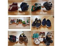 Baby and toddler boy shoes