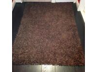Shaggy rug.