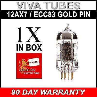 Röhre 12AX7 Tube Valve 2 x ECC83 B759 Genalex balance select /& matched pair