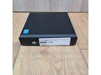 HP EliteDesk 800 G1 Mini Intel Core i5 4th Gen 2.9GHz 8GB Ram 240 SSD WIFI W 10