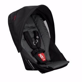 Phil & Teds Dot Black Charcoal Double Kit Second Seat Brand New RRP £149.00