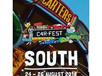 Single weekend camping ticket for Carfest South