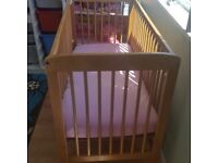 Cot bed for sale for £25