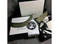 Gucci mens belt brand new boxed with receipt 100cm