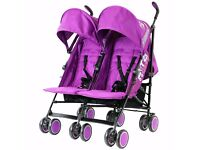 Double pram / buggy brand new used 1 time