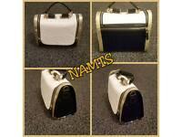 Black & Gold & Cream Handbag