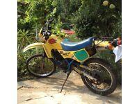 Suzuki TS50X TS50 x moped 5 speed 50cc not scooter