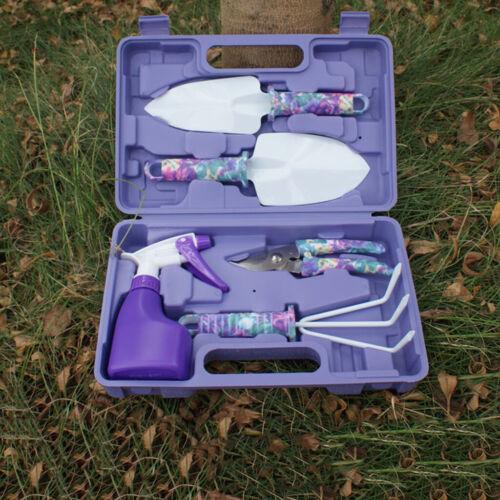 5Pcs Gardening Tools Set,Portable Garden Hand Tools Kit, Gif