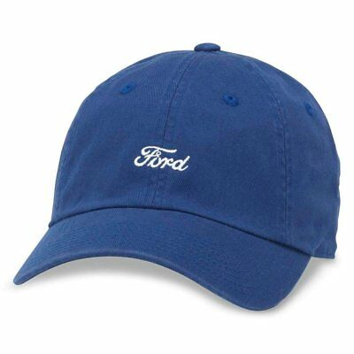 American Needle Micro Slouch Casual Baseball Dad Hat Ford Mustang, Bay Blue... Slouch Baseball