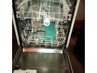 full size integrated dishwasher in used condition and good working order can deliver