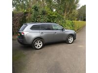 Mitsubishi outlander estate grey 1 owner 72000miles fsh selling at a low price top of the range 4x4