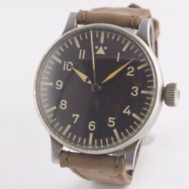 MILITARY WEMPE WW2 GERMAN FL23883 LUFTWAFFE B.UHR NAVIGATORS OBSERVATION WATCH