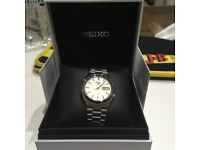Seiko Men's Watch 5 Gen Automatic - Grey Steel Bracelet