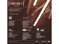 Junction 2 Ticket for sale x1 for 10/06/17