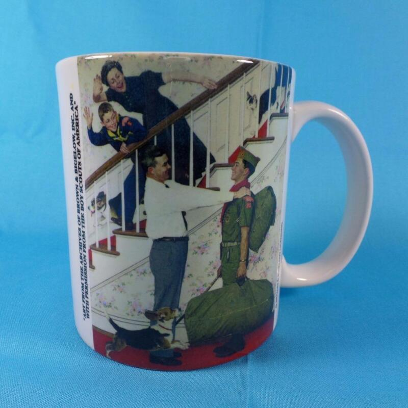Boy Scouts of America Commemorative Mug 100 Years of Scouting Rockwell Design