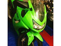 Kawasaki ninja 250r / 249cc motorbike / motorcycle / bike