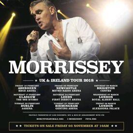 1 x Morrissey (Standing) Ticket O2 Academy Brixton £55