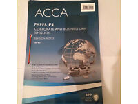 BPP's ACCA F4 Revision notes