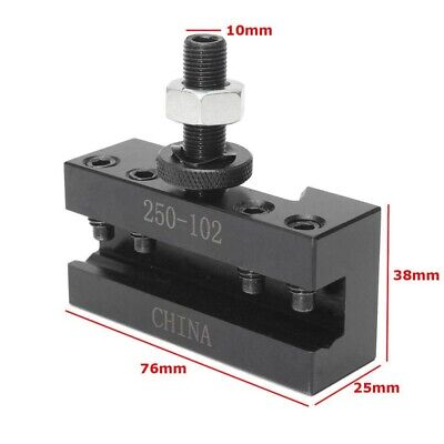 Quick Change Axa 2xl Tool Post Oversize 250-102 Boring Turning Facing Holder