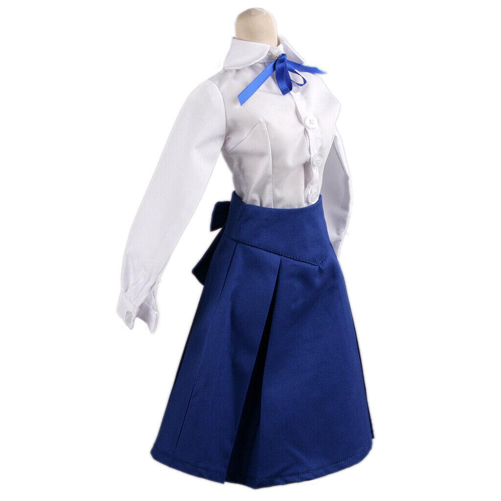 PF 244#puella Magi Madoka Cosplay Costume//uniform For 1//4 MSD Odds BJD Doll