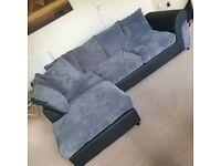 New condition corner sofa