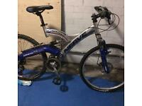 "23"" wheels gents mountain bike"