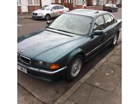 Bmw 730i E38 7 Series 730 ! HAS MOT - Spares Repairs - OPEN TO OFFERS