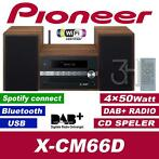 Pioneer stereoset DAB+ radio CD USB Bluetooth spotify WiFi