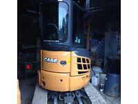 Case 360 3 tonne machine