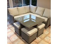 Kettler 9 seater dining set