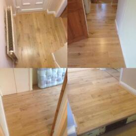Engineered flooring.