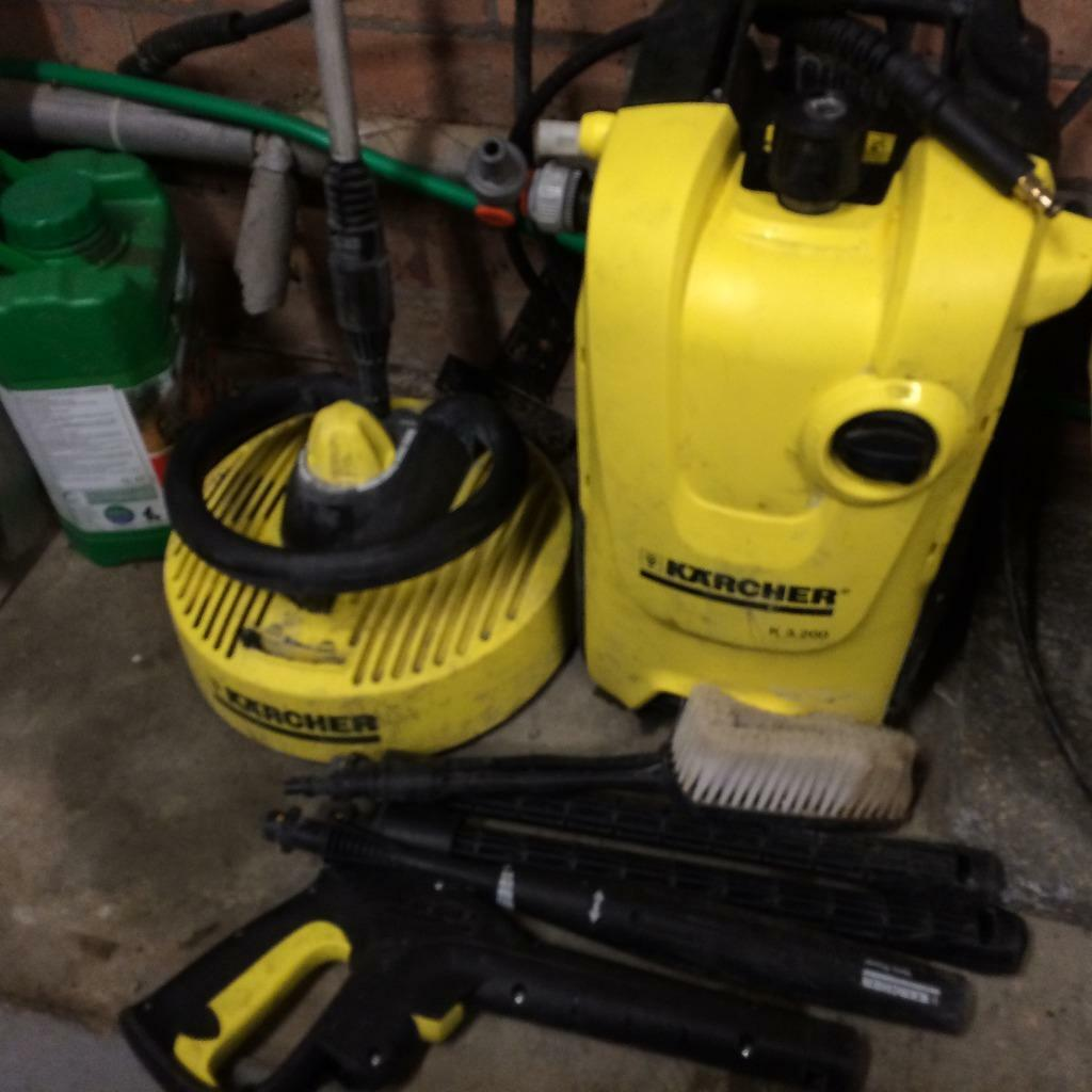 Karcher k4 compact water cooled motor pressure washer - Karcher k4 compact ...