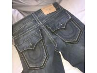 Men's true religion jeans, waist 28
