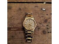 Omega Geneve 1970s automatic gold plated watch