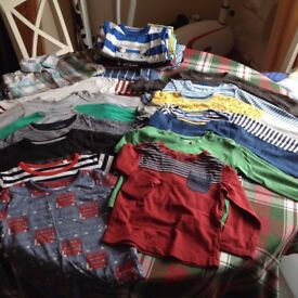 baby boy short long sleeve tops, jackets cardi shirts 12-18 months