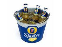 Job Lot 5x Fosters Radler Ice Bucket