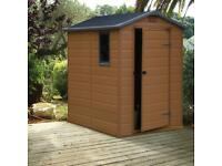 Plastic shed wanted x