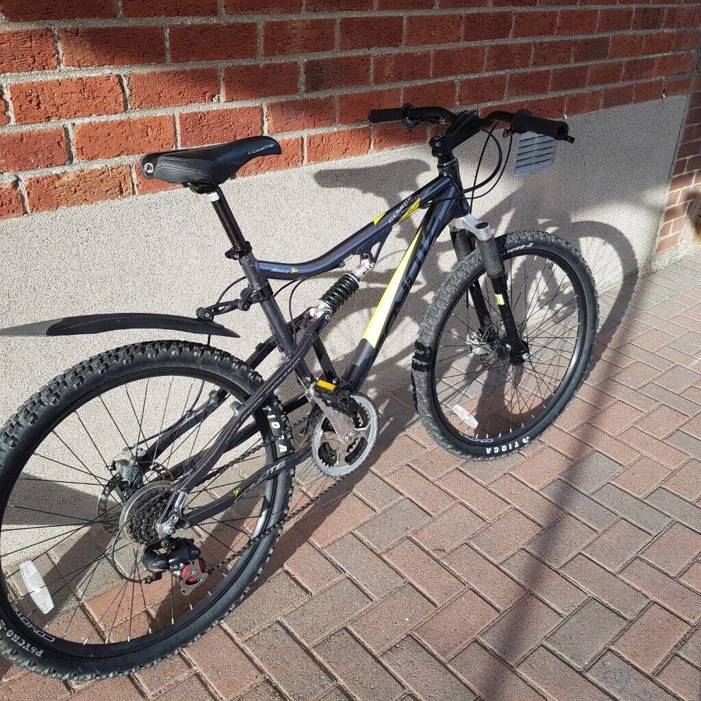 Giant revel mountain bike, 26 inch wheels, 21 gears, small