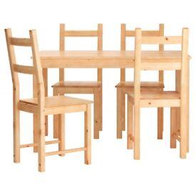 Ikea table+4chairs
