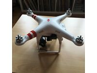 Dpi Phantom 1 Drone with Gimbal and LOADS of accessories/spare parts