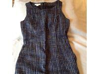 Woven workwear dress by Monsoon. Size 8
