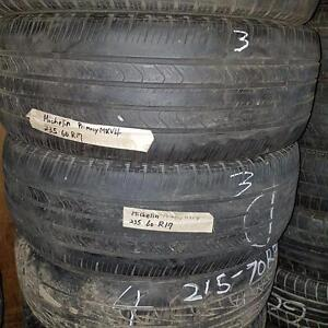 Two 235 60 17 tires for sale