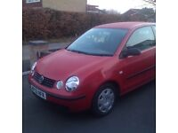 Three door polo for sale with MOT and service history. Cheap insurance!