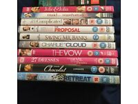 DVDs for sale £1 each or the lot for £15