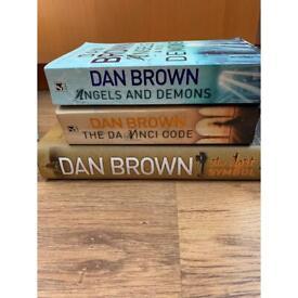 Dan Brown books x 3