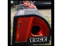 "EDGE 12"" Twin Active Subwoofer Enclosure"