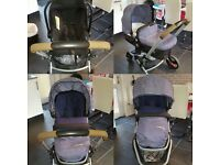 Mother care expedior pram and carseat